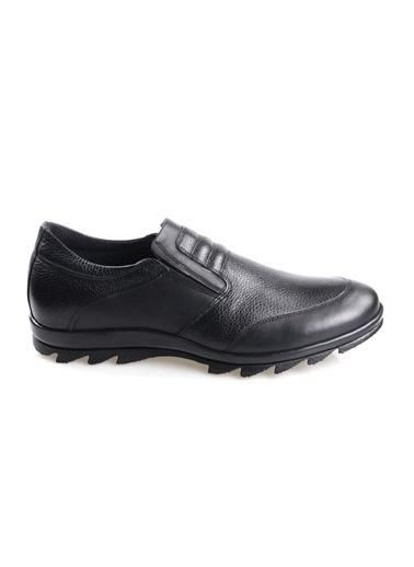 Fosco 3529 Kauçuk Taban Siyah Erkek (40-45) Günlük Ayakkabı Siyah